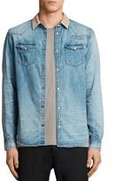 AllSaints Doom Slim Fit Button-Down Shirt