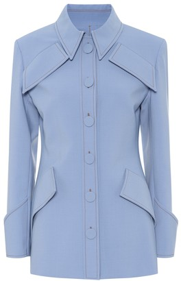 Ellery Anti Hero stretch wool-blend jacket