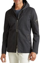 John Varvatos Hooded Zip Jacket