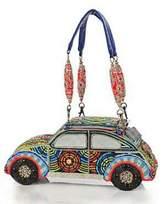 Mary Frances Beetle Beaded Bag