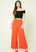 Forever 21 FOREVER 21+ Woven Palazzo Pants
