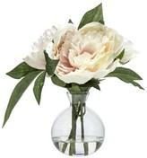 Rogue Peony Spray Bud Vase Light Pink 28cm