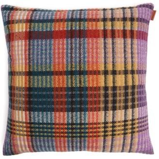 Missoni Home Whitaker Checked Wool-blend Cushion - Multi
