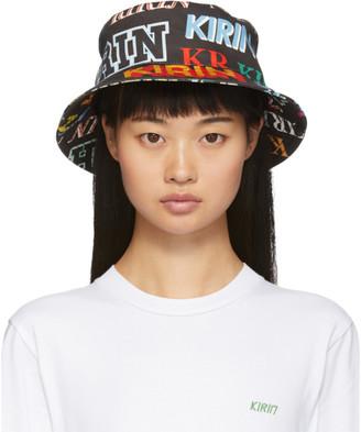 Kirin Black Denim Kirin Typo Bucket Hat