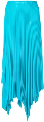 Marques Almeida Asymmetric Pleated Skirt