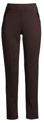 Rafaella Ponte Comfort-Fit Slim-Leg Pants