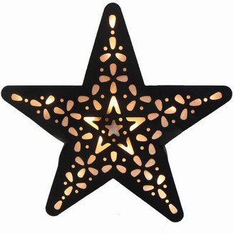 Creative Motion Battery Operated 15-Light LED Star Night Light Creative Motion Color: Black