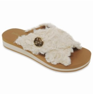 Lindsay Phillips Lotus Crisscross Wedge Slide Sandal Women's Shoes
