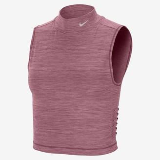 Nike Women's Cropped Tank Pro Dri-FIT