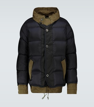Sacai Ten c nylon padded jacket