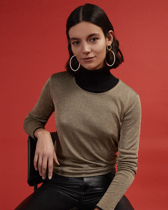 Jigsaw Lurex Blend Crew Neck Jumper