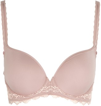 Wacoal Lace Perfection Blush Contour Bra
