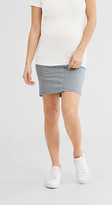 Esprit stretch skirt, under-bump waistband