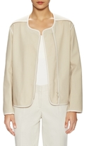 Lafayette 148 New York Charlane Cotton Topper Jacket