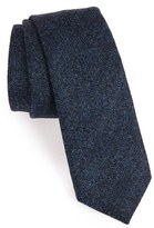 Alexander Olch Men's Herringbone Wool Tie