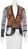 Clover Canyon Abstract Print Single-Button Blazer