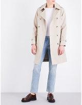 Sandro Button-down Cotton Coat