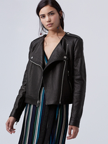 Diane von Furstenberg Tadessa Leather Jacket