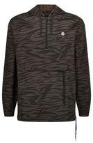 Billionaire Boys Club Zebra Print Pullover Jacket
