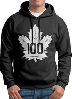 Sarah Men's Toronto Maple Leafs 100th Hoodie M