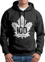 Sarah Men's Toronto Maple Leafs 100th Hoodie XL