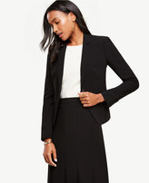 Ann Taylor Triacetate One Button Jacket