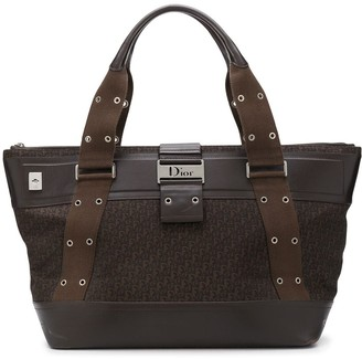 Christian Dior 2000s pre-owned Trotter travel tote bag