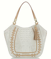 Brahmin Summer Dalton Collection Marianna Tasseled Whip-Stitched Tote