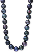 Effy Cultured Tahitian Pearl (10mm) Collar Necklace in 14k white gold