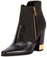 Balmain Anthea Matelasse Block-Heel Boot