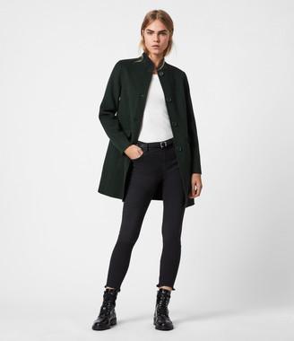 AllSaints Maya Wool Blend Coat
