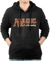 KPTYNZ Hoodie Men's Magic The Gathering Full Zipper Pocket Hooded