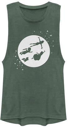 Disney Juniors' Tinkerbell Second Star to the Right Festival Muscle Tank Top