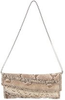 Carlos Falchi Python Studded Bag