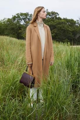 Mansur Gavriel Cashmere Narrow Buttonless Coat - Camel