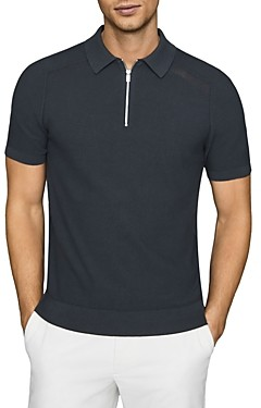 Reiss Airdale Textured Polo Shirt