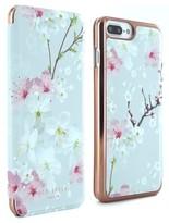 Ted Baker Mirror Iphone 6/6S/7/8 Plus Folio Case - Pink