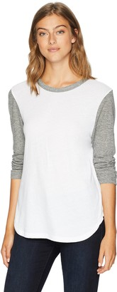 Monrow Women's Oversized Baseball TEE