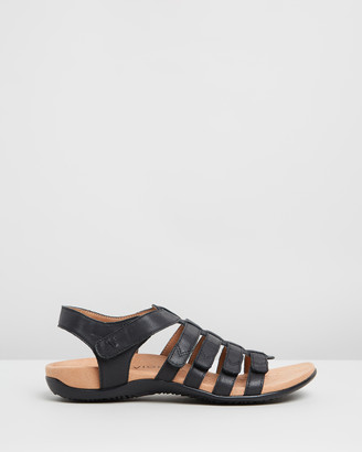 Vionic Women's Black Strappy sandals - Harissa Sandals - Size One Size, 5 at The Iconic