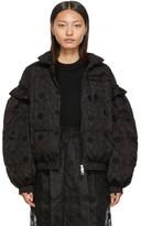 Simone Rocha Moncler Genius 4 Moncler Black Lace Down Jacket