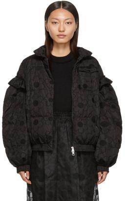 MONCLER GENIUS 4 Moncler Simone Rocha Black Lace Down Jacket