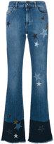 RED Valentino St. Stelle flared jeans - women - Cotton/Polyester/Spandex/Elastane - 38