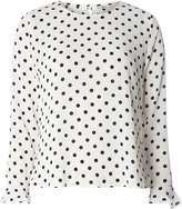 Only **Only White Polka Dot Blouse