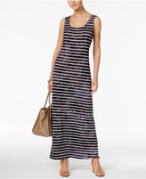Style&Co. Style & Co Striped Maxi Dress, Only at Macy's