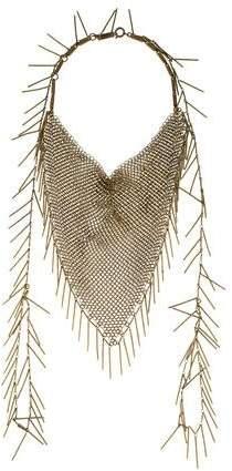 Isabel Marant Linares Mesh Necklace