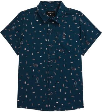 Quiksilver Pacific Short Sleeve Button-Up Shirt