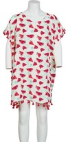 San Diego Hat Company Tunic with Watermelon Print and Fringe BSK1811 (Girls')