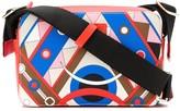 Emilio Pucci mini abstract-print crossbody bag
