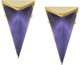 Alexis Bittar Faceted Pyramid Post Earrings Earring
