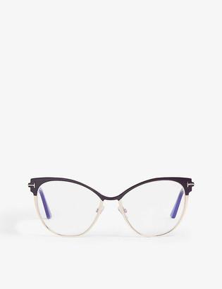 Tom Ford Ft5530 cat-eye frame optical glasses